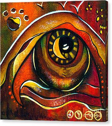 Elementals Spirit Eye Canvas Print