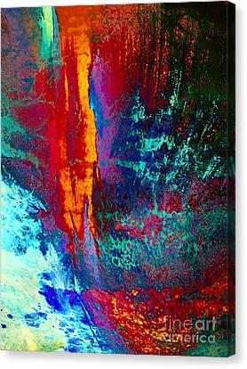 Elements Fight Canvas Print by Klara Acel