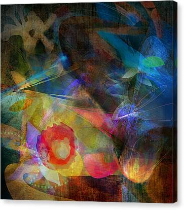 Elements II - Emergence Canvas Print by Bryan Dechter