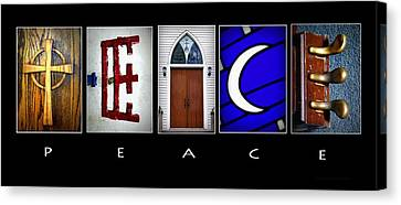 Elements Of Peace Canvas Print