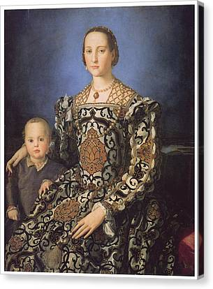 Eleonora Ad Toledo Grand Duchess Of Tuscany Canvas Print