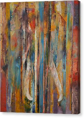 Surrealist Canvas Print - Elephant by Michael Creese