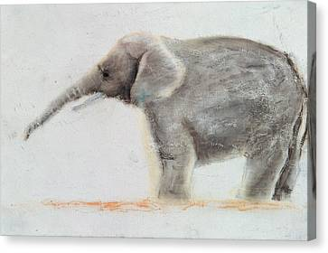 Elephant  Canvas Print by Jung Sook Nam