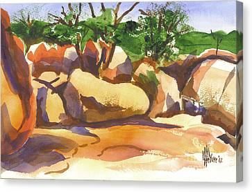 Elephant Rocks Revisited I Canvas Print by Kip DeVore