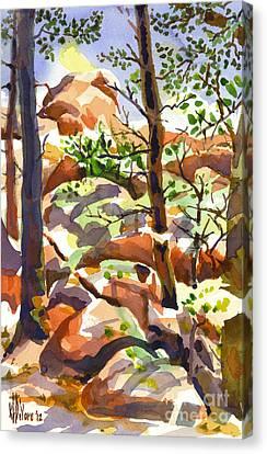 Elephant Rocks Revisited IIb Canvas Print by Kip DeVore