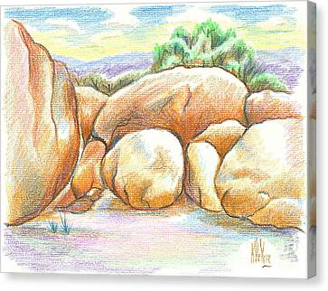 Elephant Rocks State Park II  No C103 Canvas Print