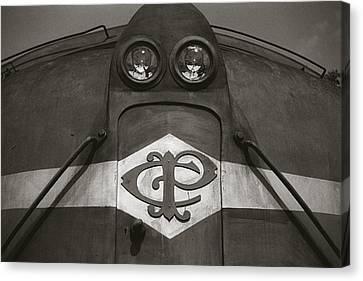 Eletric Locomotive Canvas Print by Amarildo Correa