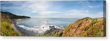 Palos Verdes Cove Canvas Print - Elevated View Of A Coast, Palos Verdes by Panoramic Images
