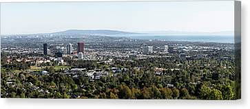 Elevated View Of Buildings, West Los Canvas Print