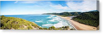 Elevated View Of Natures Valley Rest Canvas Print by Panoramic Images