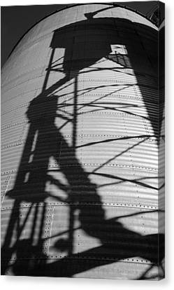 Elevator Shadow Canvas Print