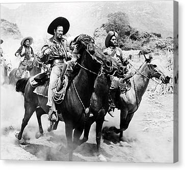 Eli Wallach In The Magnificent Seven  Canvas Print by Silver Screen