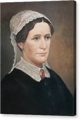 First Ladies Canvas Print - Eliza Johnson, First Lady by Science Source