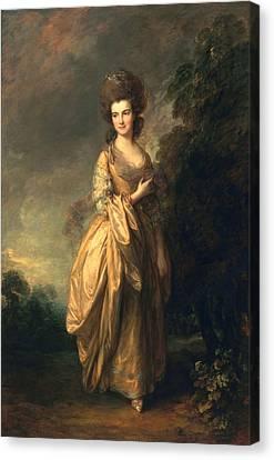 Elizabeth Beaufoy, Later Elizabeth Canvas Print by Thomas Gainsborough