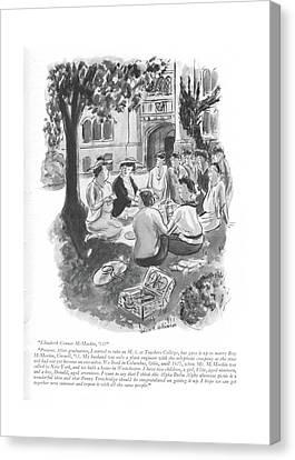 Elizabeth Conner Mcmeekin Canvas Print