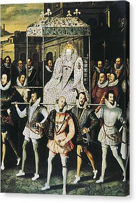 Elizabeth I Of England, Called Canvas Print by Everett