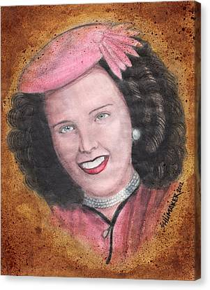 Stopper Canvas Print - Elizabeth Short Before by David Shumate