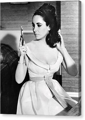 Elizabeth Taylor In The V.i.p.s  Canvas Print by Silver Screen