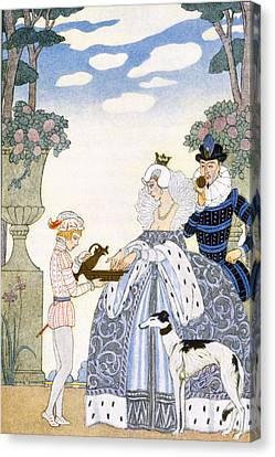 Elizabethan England Canvas Print by Georges Barbier