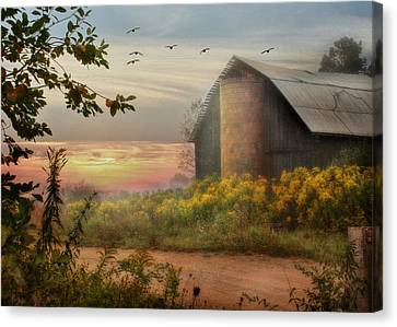 Elk County Canvas Print by Lori Deiter