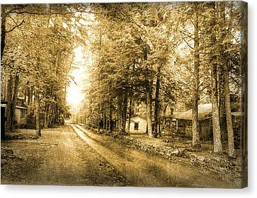 Elkmont Ghost Town Canvas Print by Michael Eingle