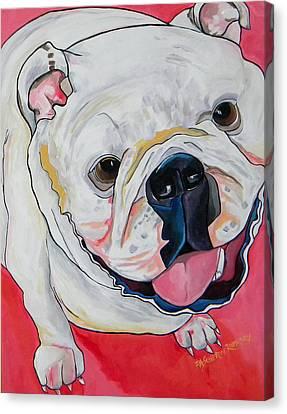 Ella Canvas Print by Patti Schermerhorn