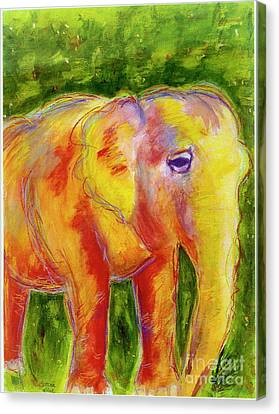 Elle Canvas Print by Beth Saffer