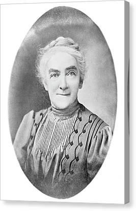 Ellen Richards Canvas Print by Library Of Congress