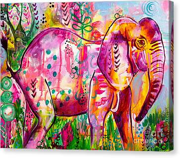 Ellie The Elephant Canvas Print