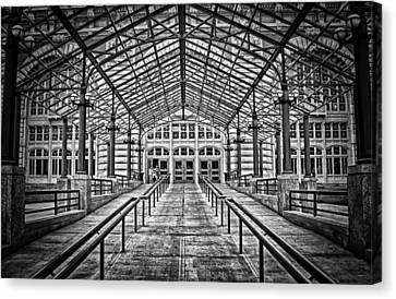 Ellis Island Entrance Canvas Print