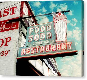 Elliston Place Soda Shop Canvas Print