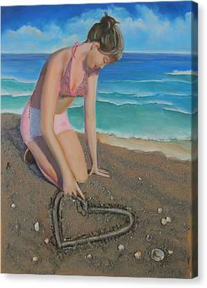 Sun Rays Canvas Print - Eloise Loves...eloise Aime by Marcel Quesnel