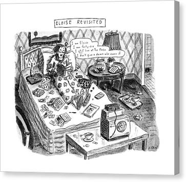 Recent Canvas Print - Eloise Revisited by Roz Chast