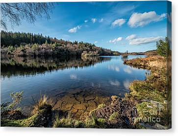 Elsi Reservoir Canvas Print by Adrian Evans