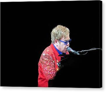 Elton Canvas Print by Aaron Martens