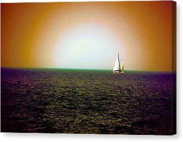 Elusive Sails Canvas Print