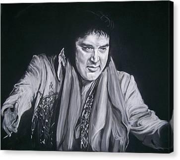 Elvis 1977 Canvas Print