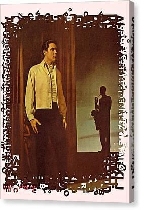 Elvis Aaron Presley Canvas Print by Movie Poster Prints