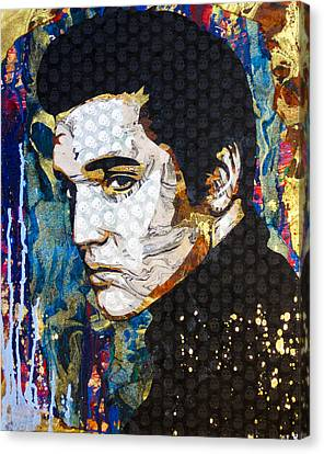 Elvis Canvas Print by Bobby Zeik