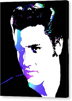 Elvis Canvas Print by Cindy Edwards