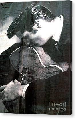 Elvis Gently Weeps Canvas Print