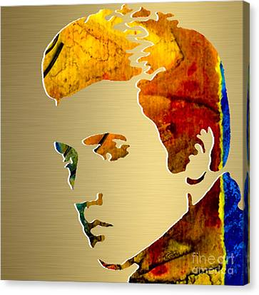 Elvis Gold Series Canvas Print