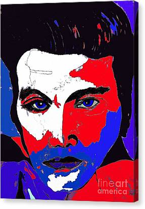 Elvis Made In The U S A Canvas Print