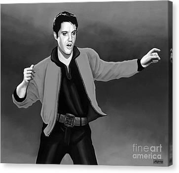 Elvis Presley 4 Canvas Print by Meijering Manupix