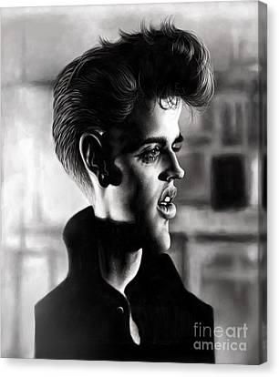 Elvis Presley Canvas Print by Andre Koekemoer
