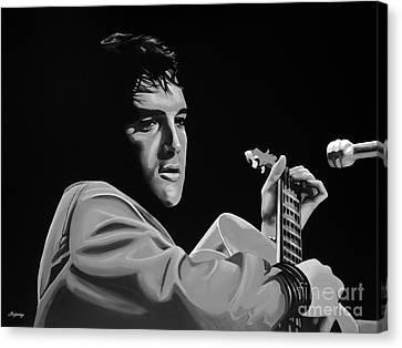 Elvis Presley Canvas Print by Meijering Manupix