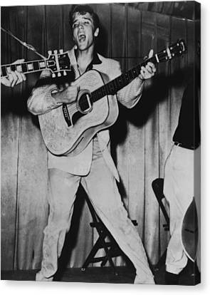 Elvis Presley  Canvas Print by Retro Images Archive
