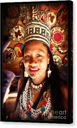Embera Chieftess Canvas Print