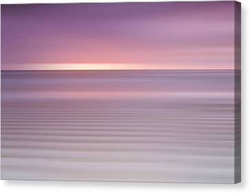 Embleton Bay Ripples II Canvas Print by Chris Frost