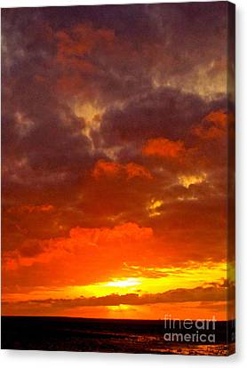 Embrace Canvas Print by Q's House of Art ArtandFinePhotography